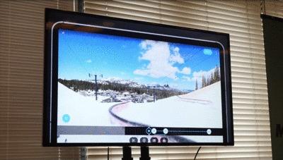 GoProMAX発表会のGoProアプリで向きの切り替えするデモ映像