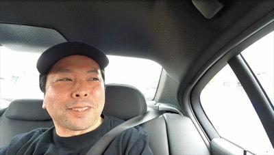 GoProHERO8Blackで撮影したドリフト体験中のUZU店長GIF