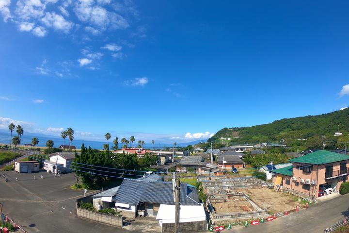 屋上からの写真  撮影:ライター南谷有美