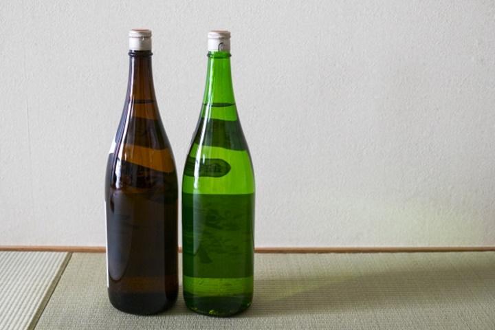一升瓶2本