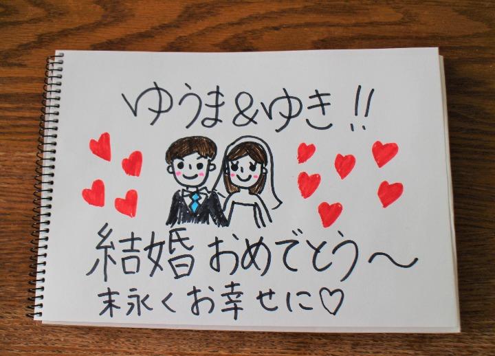 結婚 式 メッセージ カード 友達 そのまま使える!結婚式 メッセージ文例...