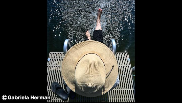ニコンZ50で撮影した水辺の写真からわかる解像度の高さ