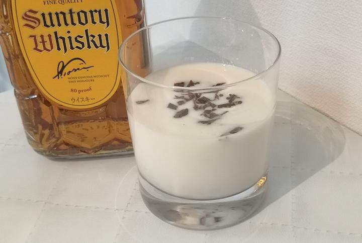 ウイスキーのチョコレートアレンジの画像