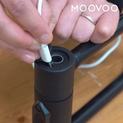 USB給電の様子