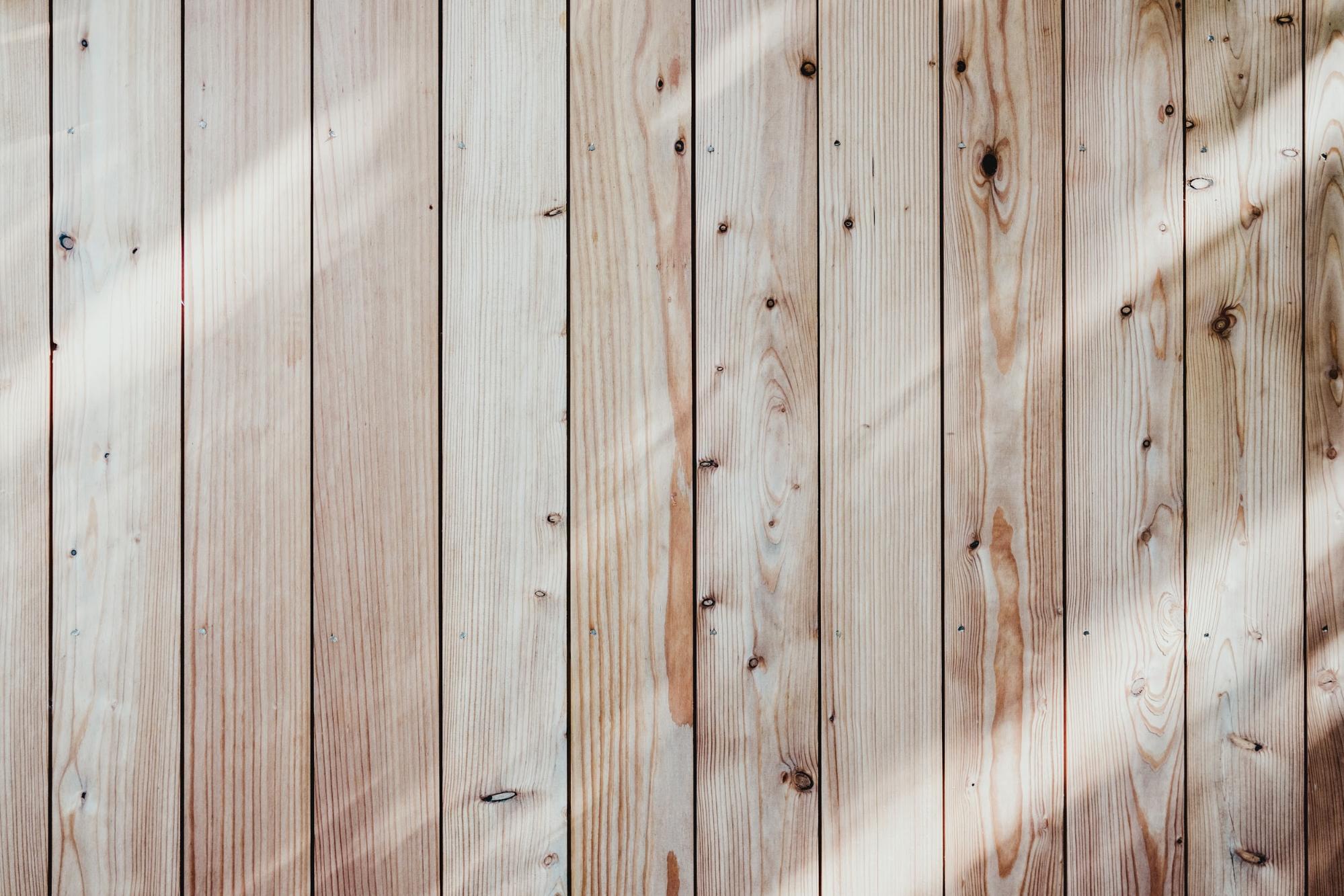 美しい木の無垢材