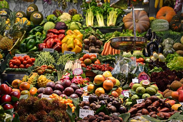 野菜・加工品の写真