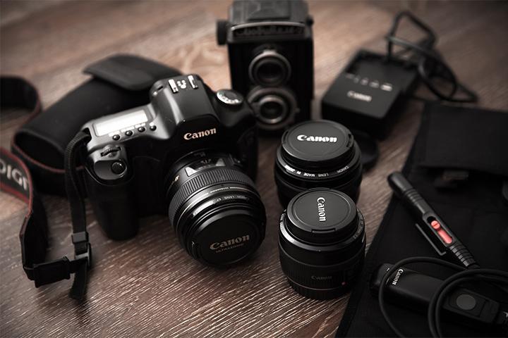 Canonの一眼カメラやレンズ