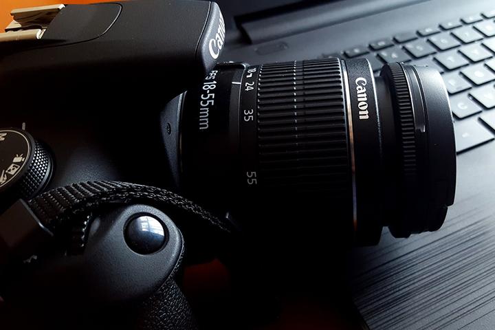 Canonの一眼レフ