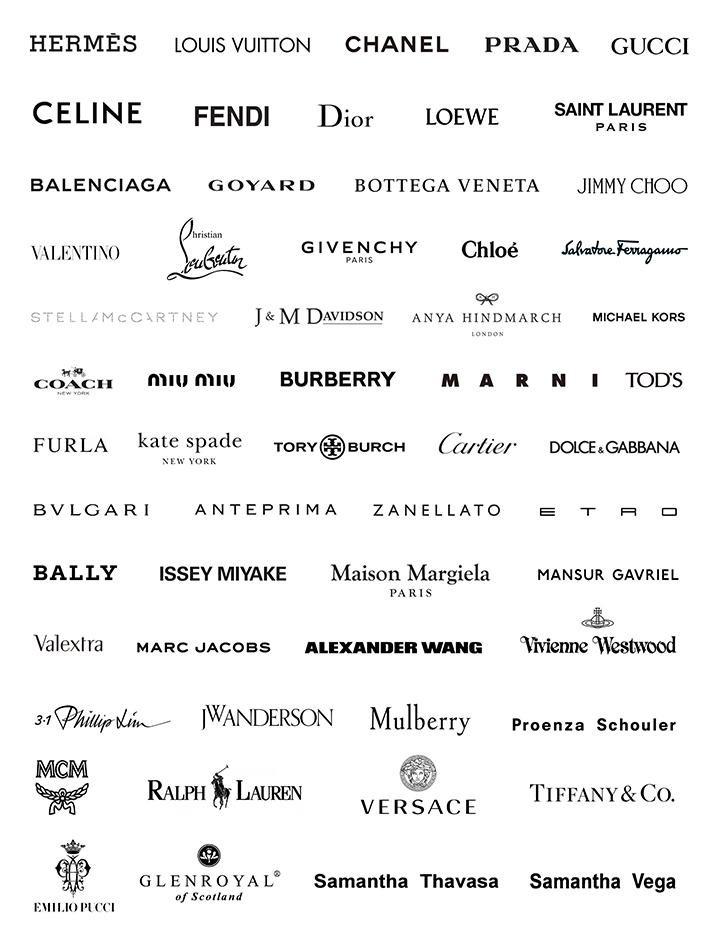 ラクサスの取り扱いブランド一覧の画像