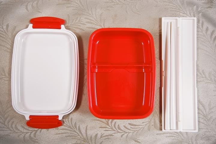 プラスチック弁当箱画像