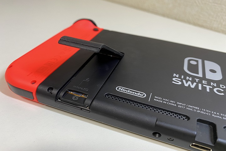 フォーマット カード switch sd