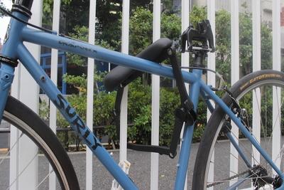 サドルが自転車ロックに変形!?超強力なセキュリティの 『SEATYLOCK(シーティーロック)』