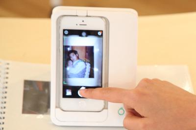 アルバム写真をデジタル化 iPhoneスキャナー『Omoidori(オモイドリ)』
