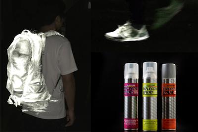 夜道に出ても安全!光を反射するスプレー『Albedo100(アルベド100)』