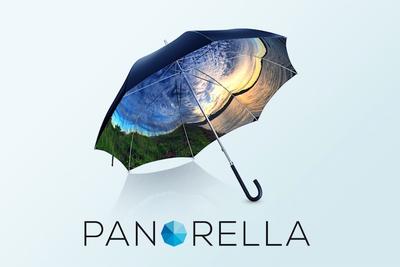 傘が360°のパノラマに!? あなただけの傘をつくれる「PANORELLA(パノレラ)」