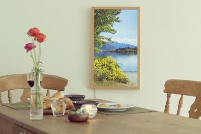 世界中の美しい景色を表示できるデジタル窓 「Atmoph(アトモフ) Window」