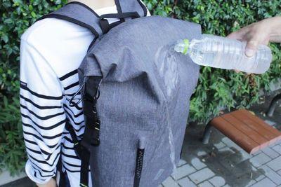 完全防水、防犯機能付きバックパック『Code10(コード10)』