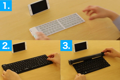 持ち運べるし使いやすい!おすすめワイヤレスキーボード3選
