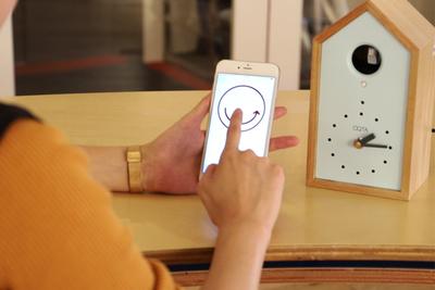 家族の温もりを感じる IoT×鳩時計『OQTA(オクタ)』