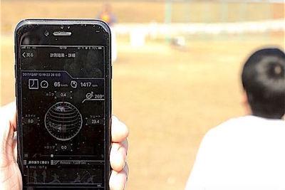 野球にIoT革命!瞬時に球速や回転数がわかる「テクニカルピッチ(Technical Pitch)」