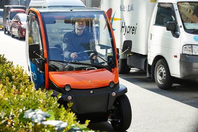 自宅で充電可能! 1人乗り電気自動車『BIRO(ビロ)』
