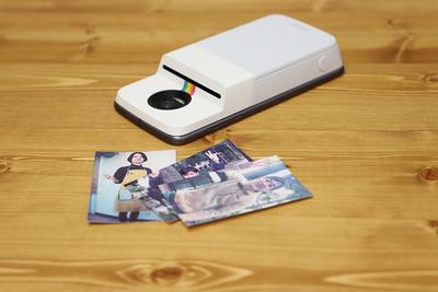 撮って、印刷して、その場で手渡し 「Polaroid インスタプリンター」