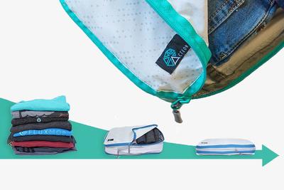 かさばる衣類をコンパクトに持ち歩ける!「Acteon Packing Cube」
