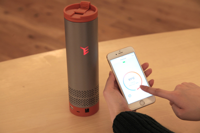 世界初の冷却機能搭載で、温度調節が自由自在! これが本当の魔法瓶、スマートタンブラー「Yecup365」登場。