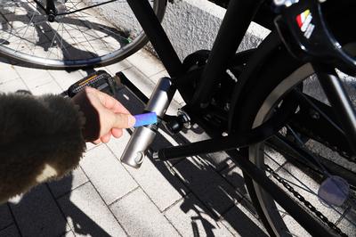 一瞬で自転車の鍵が開けられる「ピッとゴー」