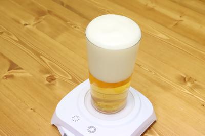 飲むのは家だが泡は立つ!ビールに極上の泡を提供する「SONIC HOUR(ソニックアワー)」