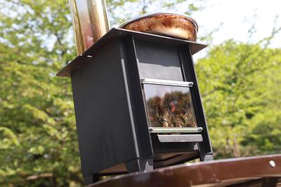 焚火をテーブルで! ミニ暖炉「こばこ」大人の火遊び