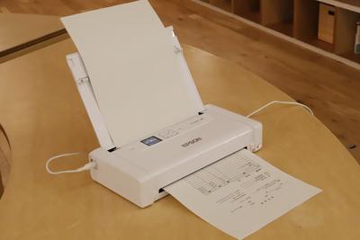 バッテリー内蔵、Wi-Fi接続で楽々印刷できる!エプソンのモバイルプリンター『PX-S05W』