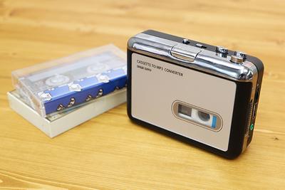 カセットテープの音源をデジタル保存できる「カセットテープ変換プレイヤー」