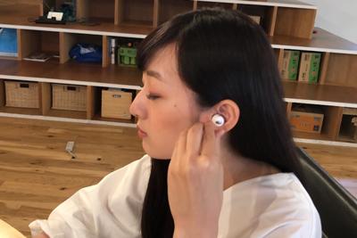 ワイヤレスイヤホンの使い方って意外と簡単! iPhoneに接続、動画で紹介