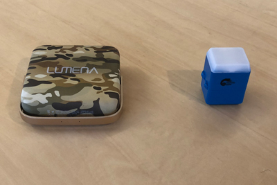最強の充電式LEDランタン!小型で明るい「ルーメナー」と「ヘリオ」を比較