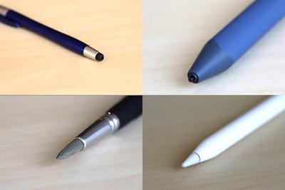 スタイラスペンを徹底比較。イラスト描きへのおすすめは極細タイプ?筆タイプ?