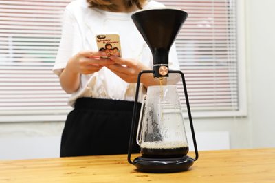 あなた好みの淹れ方を記憶できるIoTコーヒーメーカー「GINA ジーナ」