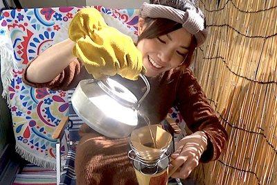 UNIFLAMEのコーヒーバネットを使って優雅な朝を【グピコズの初心者キャンプ術!#13】