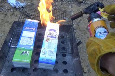 キャンプの朝ごはんにおすすめ。手軽に作れるカートンドッグ!【グピコズの初心者キャンプ術!#18】