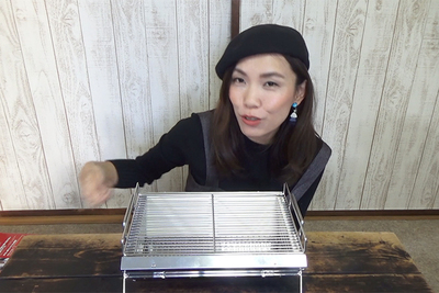 「ユニセラ」の卓上BBQコンロで大人女子のBBQを楽しもう!【グピコズの初心者キャンプ術!#23】