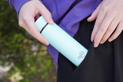ポケットに入れて持ち運びできる極小サイズのステンレスボトル『POKETLE(ポケトル)』