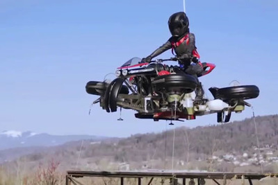 ジェットエンジン付き4輪バイク『LMV 496』が浮上!