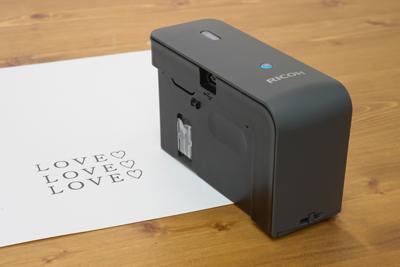 色んな場所に手軽に印字!『RICOH Handy Printer』
