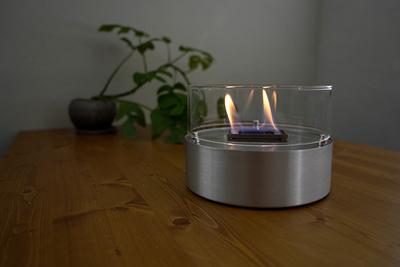 おうちのテーブルで 焚き火ができちゃう!?『TENDERFLAME(テンダーフレーム)』