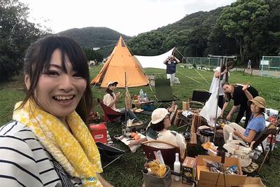 丸山県民サンビーチで女子キャンプ!無料&施設充実の人気スポット【natsuとキャンプに行こう!#2】