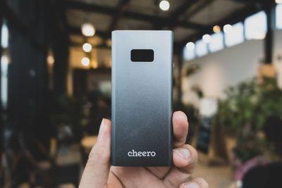 【本音で読者レビュー】 1%単位で残量表示するモバイルバッテリー、cheero「Power Plus 5」㊤