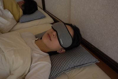 光と振動で確実・快適に目覚める!『アイマスクアラーム』【半歩未来のライフスタイル】