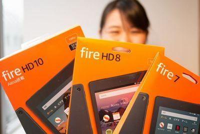Amazon Fireタブレット、3機種を比べ倒す 使えるアプリは?性能は?