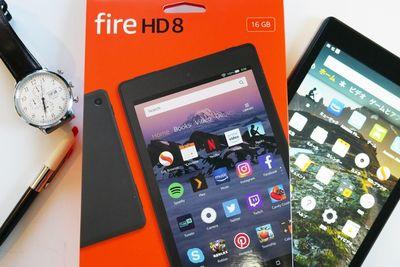 Amazon FireHD8、使えるアプリは? ネット、マイクラ…快適さをレビュー