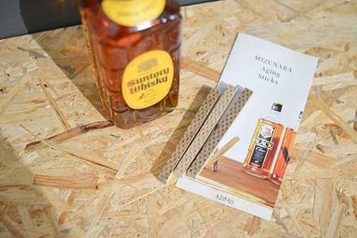 1,000円ウイスキーが高級ウイスキーの味わいに!?入れて待つだけ「ミズナラスティック」の効果とコスパを徹底検証!